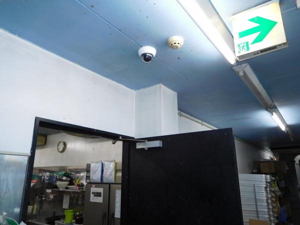 某焼き肉店 防犯カメラ