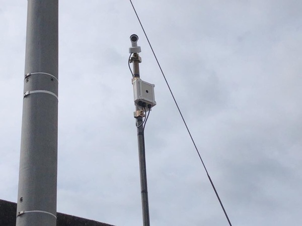 足場会社にクラウド防犯カメラを設置