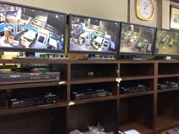 下関合同花市場 監視カメラ設置工事