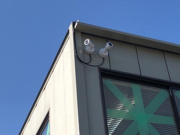 某現場事務所 クラウド式 防犯カメラ工事