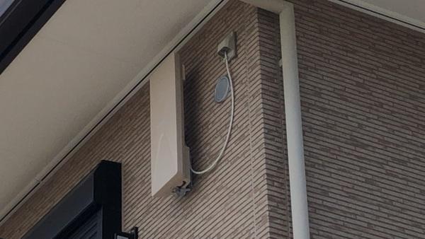 ハウスメーカー依頼の各種アンテナ設置