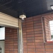 船舶会社駐車場に防犯カメラ設置の画像1