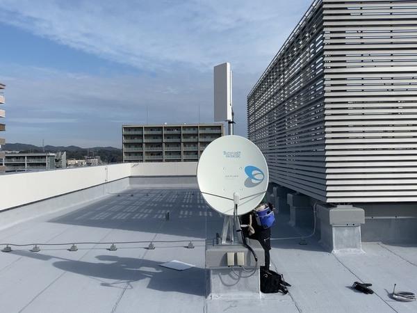 病院のテレビ共同受信設備